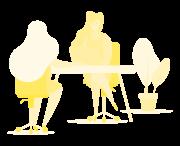 שירותים-צהוב